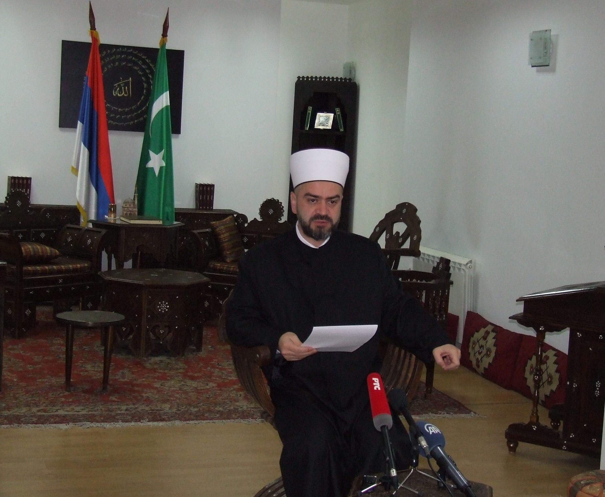 BAJRAMSKA KONFERENCIJA ZA MEDIJE REISU-L-ULEME ISLAMSKE ZAJEDNICE SRBIJE
